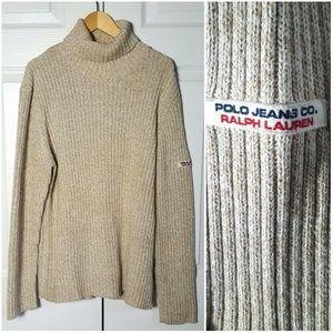 Polo Ralph Lauren Vintage 90s Knit Turtleneck